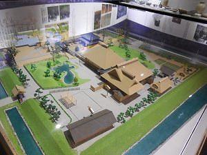 足利学校全体模型!足利商工会議所に展示されています