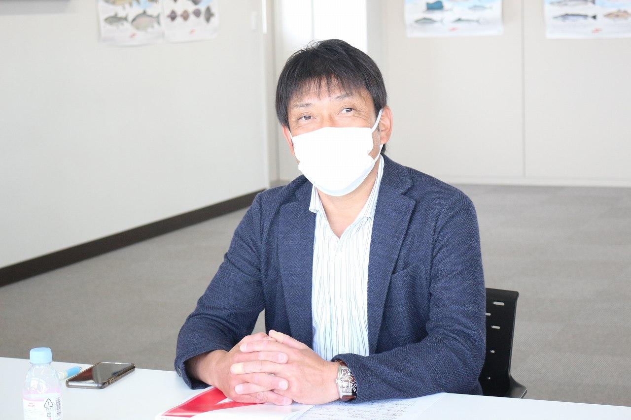 栁下浩伸社長。胸襟を開いてお話しくださりました